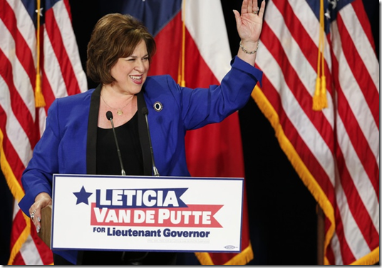 Texas Senator Leticia Van De Putte