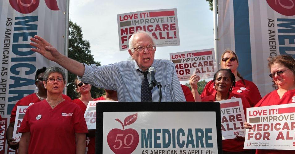 Bernie Sanders Medicare for all medicare-for-all single-payer