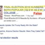 Trump Camp Mounting Disinformation Campaign That He Won The Popular Vote