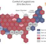 Despite harrowing election, Democrats make net legislative gain, picking up 4 chambers to GOP's 3
