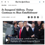 Hey, New York Times – The 'Relentless Populist' Relented Long Ago