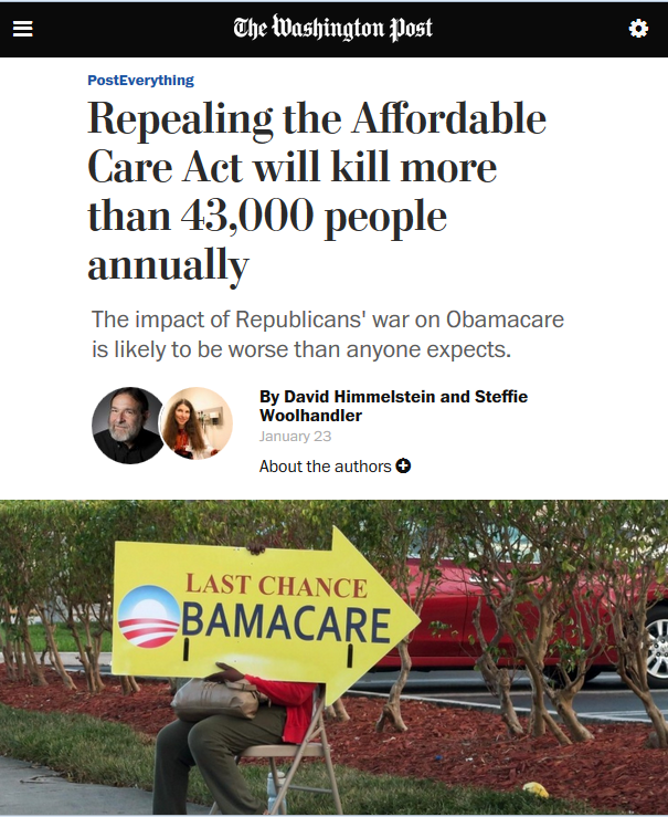 WaPo Factcheck Attack on Sanders' ACA Warning at Odds With Actual Facts