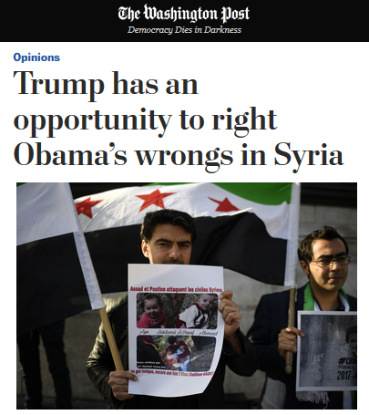 The Return of the Dangerous 'Obama Did Nothing' Narrative on Syria