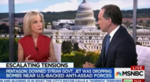 Eager for World War III on MSNBC