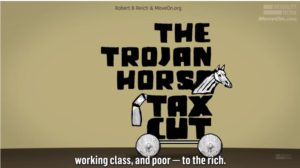 Robert Reich: Donald Trump's tax cut Trojan Horse (VIDEO)