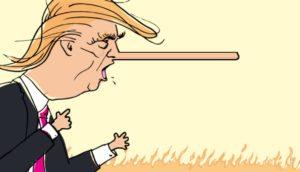 Deposing President Donald Trump, the real Lying King
